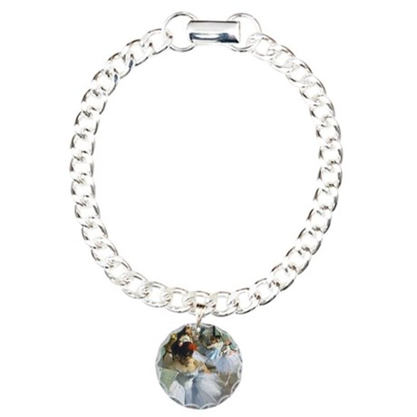 Degas - Dance Class Charm Bracelet, One Charm
