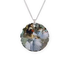 Degas - Dance Class Necklace