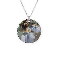 Degas - Dance Class Necklace Circle Charm