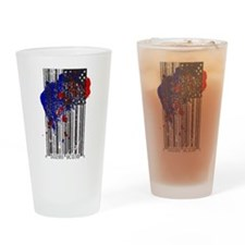 Barcode Flag Drinking Glass
