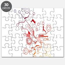 Rainbow Circuit Puzzle