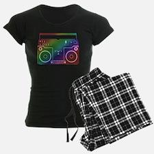 Rainbow Stereo Pajamas