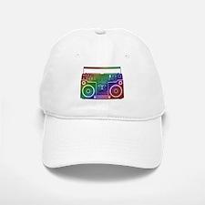 Rainbow Stereo Baseball Baseball Cap
