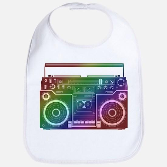 Rainbow Stereo Bib