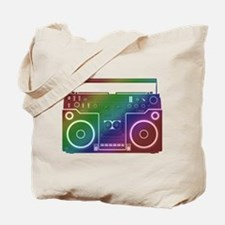 Rainbow Stereo Tote Bag