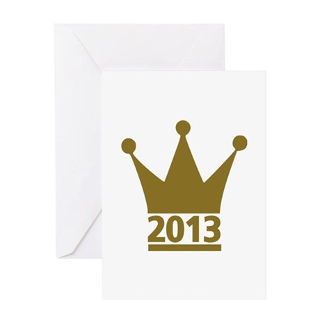 2013 year Greeting Card