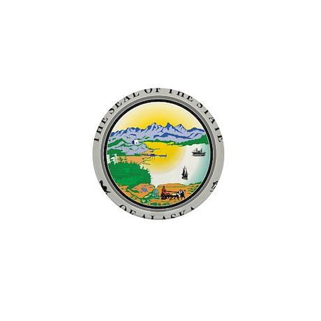 Alaska State Seal Mini Button (100 pack)