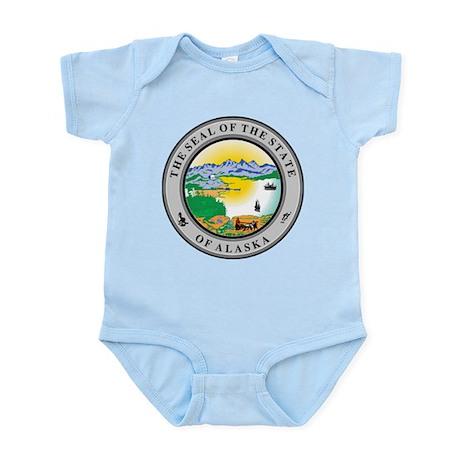 Alaska State Seal Infant Bodysuit