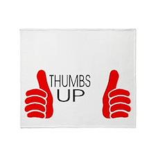 thumbs up Throw Blanket