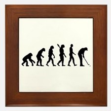 Golf evolution Framed Tile
