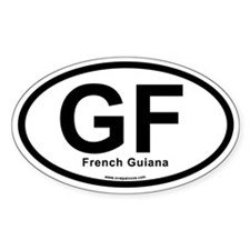 GF - French Guiana Decal