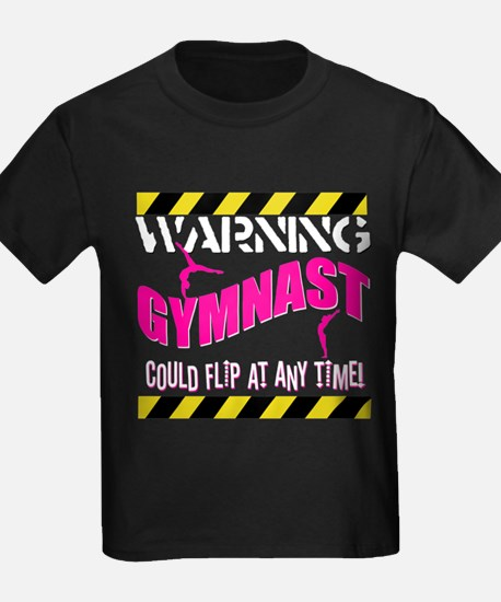 Warning_Gymnast T-Shirt