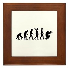 Paintball evolution Framed Tile
