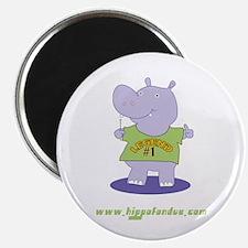 Hippo Fondue Magnet