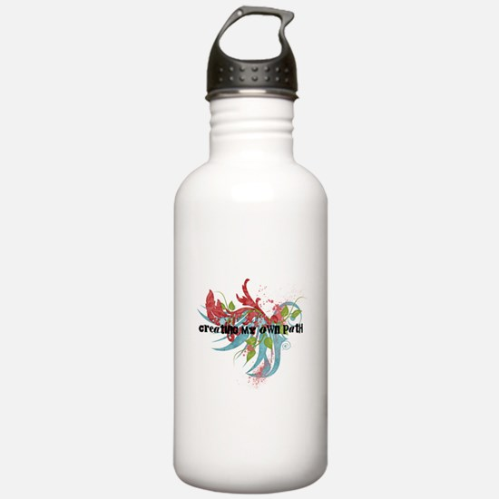 Creating My Own Path Water Bottle
