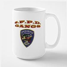 S.F.P.D. Gang Task Force Mug