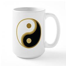 Yin Yang, Gold Mug