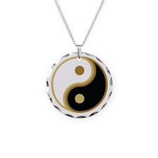 Yin Yang, Gold Necklace