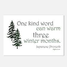 Kind Word Postcards (Package of 8)