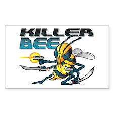 Killer Bee @ eShirtLabs.Com Rectangle Decal