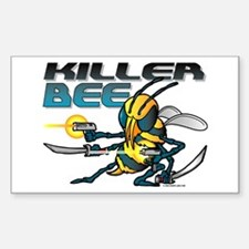 Killer Bee @ eShirtLabs.Com Rectangle Decal