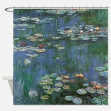 Claude Monet Water Lilies Shower Curtain