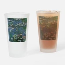 Claude Monet Water Lilies Drinking Glass
