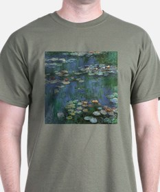 Claude Monet Water Lilies T-Shirt