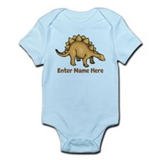 Personalized Stegosaurus Infant Bodysuit