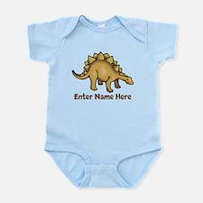 Personalized Stegosaurus Infant Bodysuit