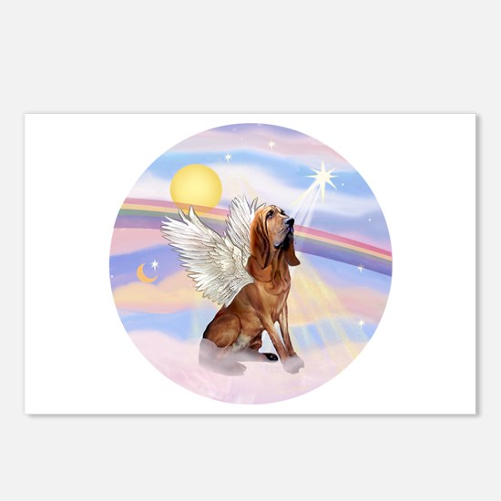 Clouds-BloodhoundAngel Postcards (Package of 8)