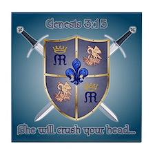 Marian Coat of Arms Coaster