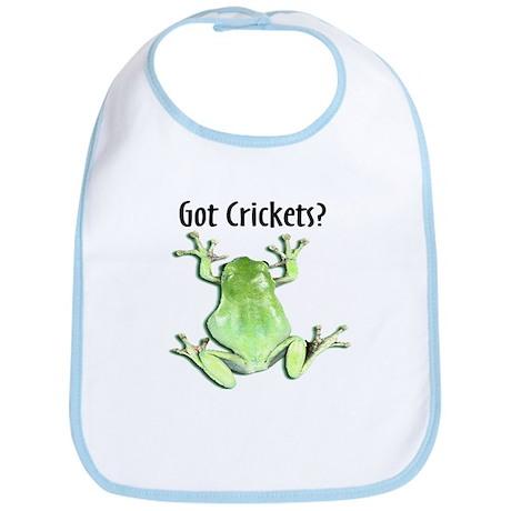Whites Tree Frog II Got Crick Bib