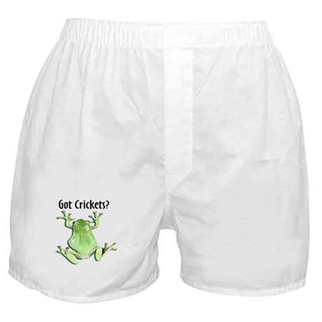 Whites Tree Frog II Got Crick Boxer Shorts