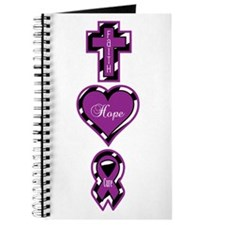 Zebra Faith Hope Cure CF Journal