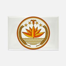Bangladesh Coat of Arms Rectangle Magnet