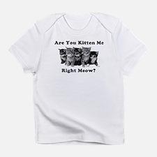 Dark Kitten Me Right Meow Infant T-Shirt