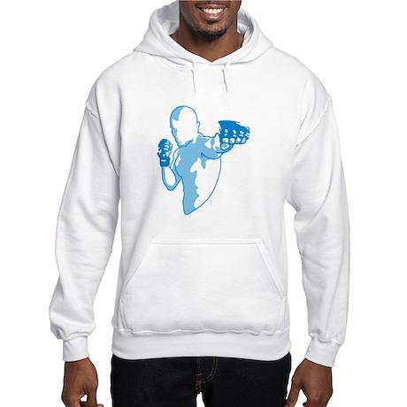 Punch (blue) Hooded Sweatshirt