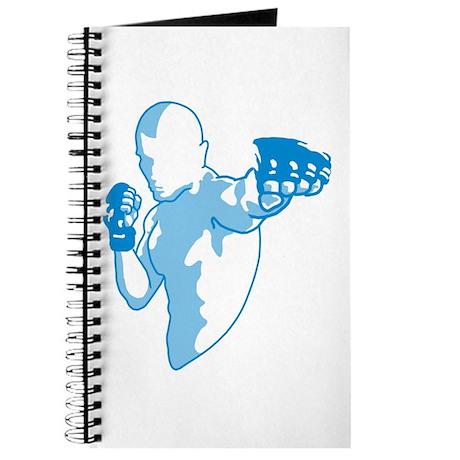 Punch (blue) Journal