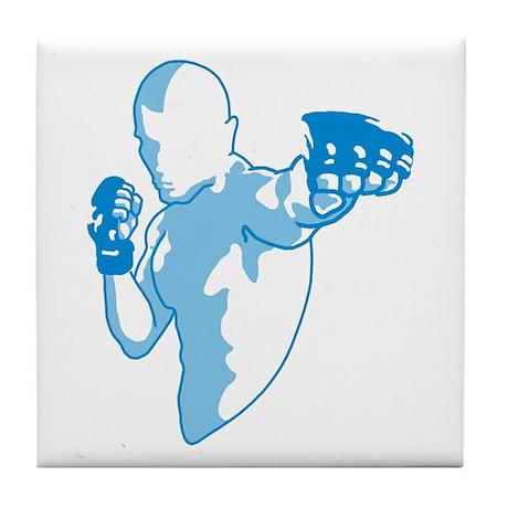 Punch (blue) Tile Coaster