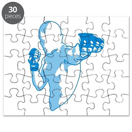 Punch (blue) Puzzle