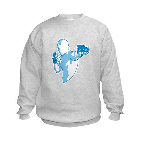 Punch (blue) Kids Sweatshirt