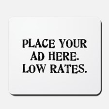 Low Rates Mousepad