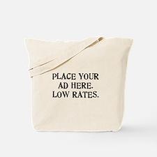 Low Rates Tote Bag