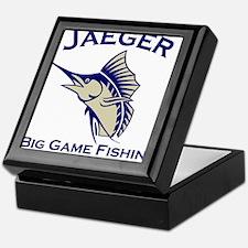 Jaeger Big Game Fishing Keepsake Box