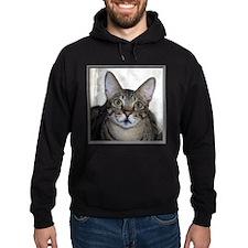 Savannah Cat Portrait with frame Hoodie