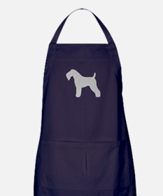 Kerry Blue Terrier Apron (dark)