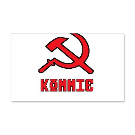 Kommie Hammer & Sickle 20x12 Wall Decal
