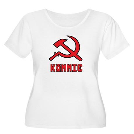 Kommie Hammer & Sickle Women's Plus Size Scoop Nec