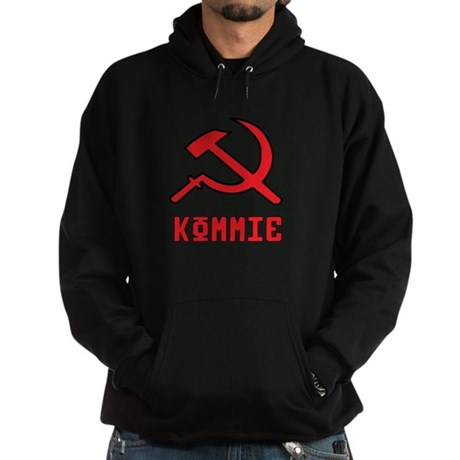 Kommie Hammer & Sickle Hoodie (dark)